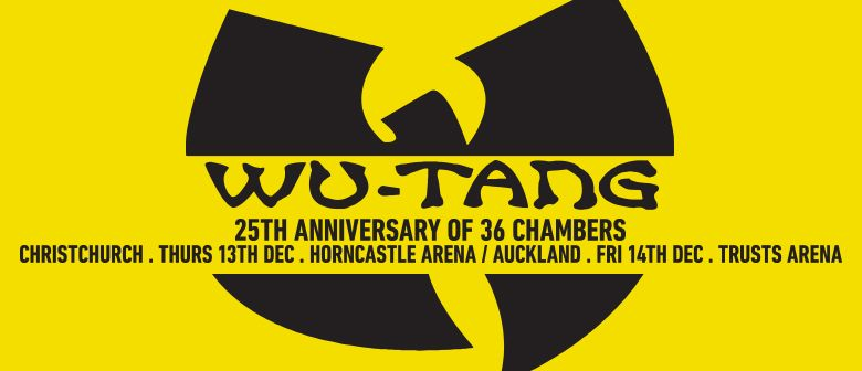 Wu-Tang Clan New Zealand Tou