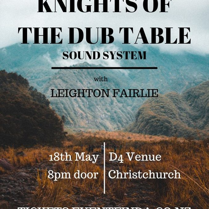 Knights of the DUB Table – D4 Venue Christchurch