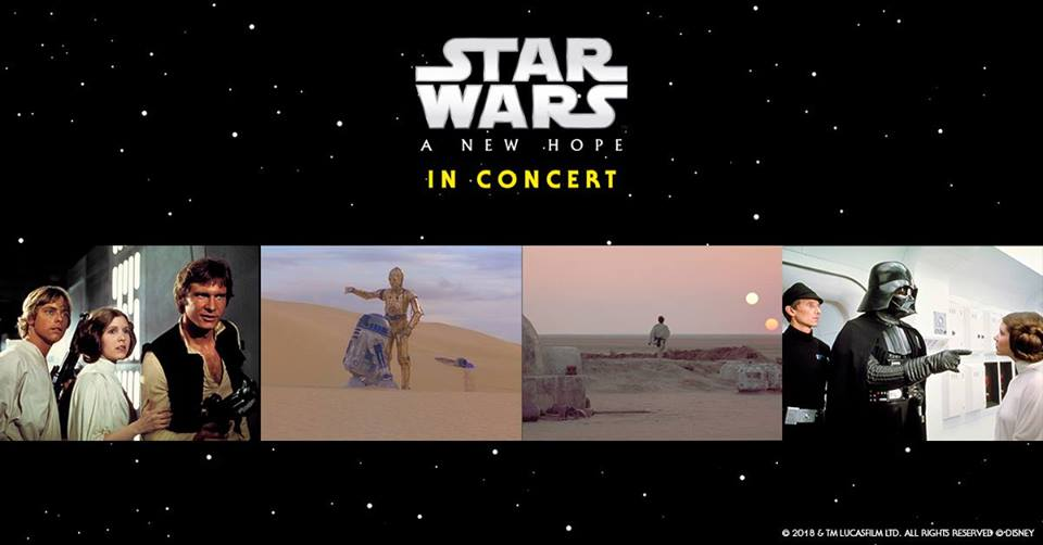 STAR WARS: A New Hope in Concert – Christchurch