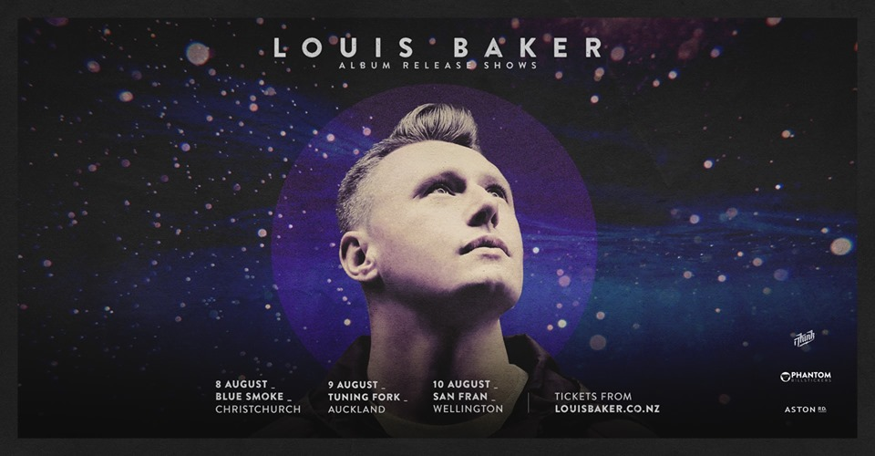 Louis Baker Album Release Show – Christchurch