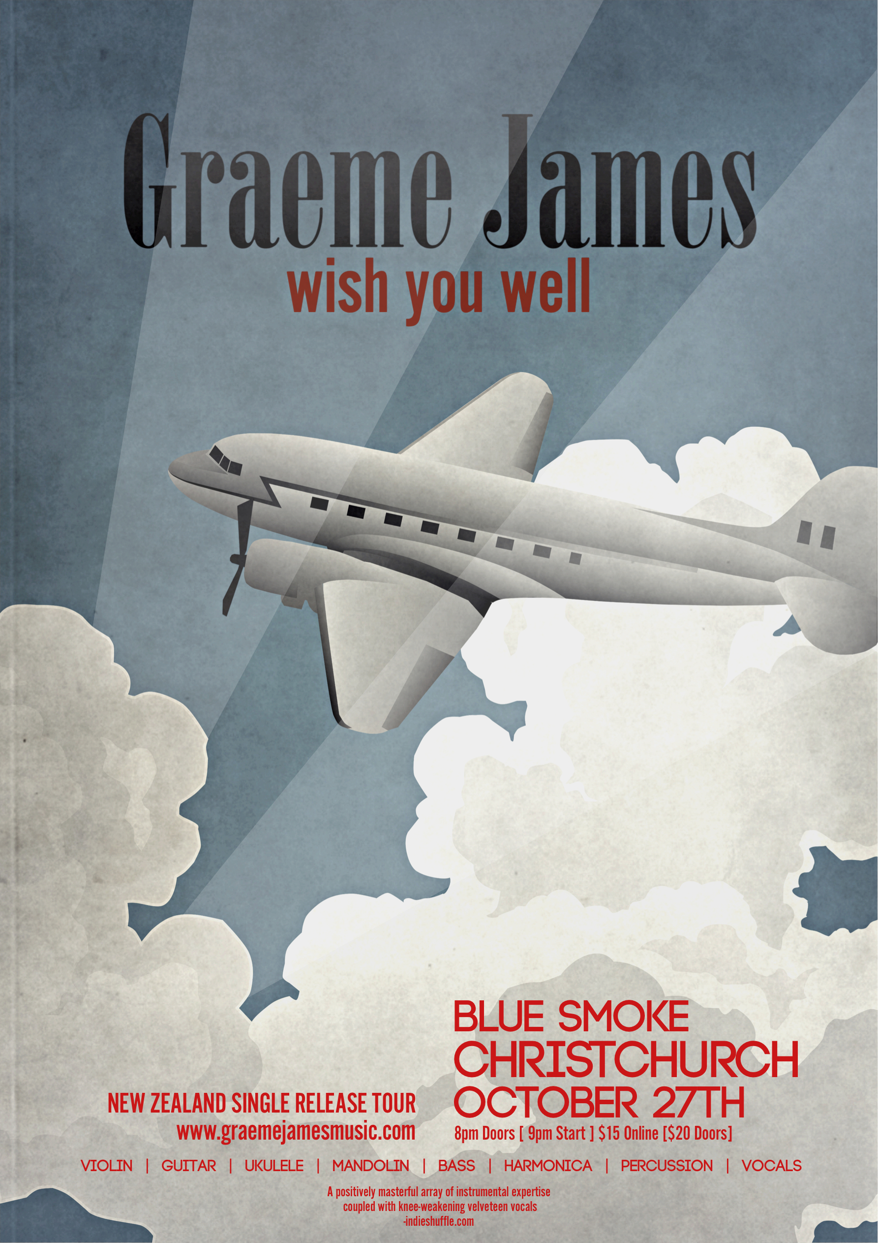 Graeme James Wish You Well Tour Soundsgood