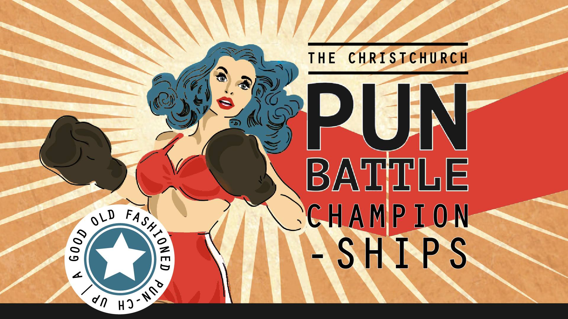 Christchurch Pun Battle Grand Final - SoundsGood