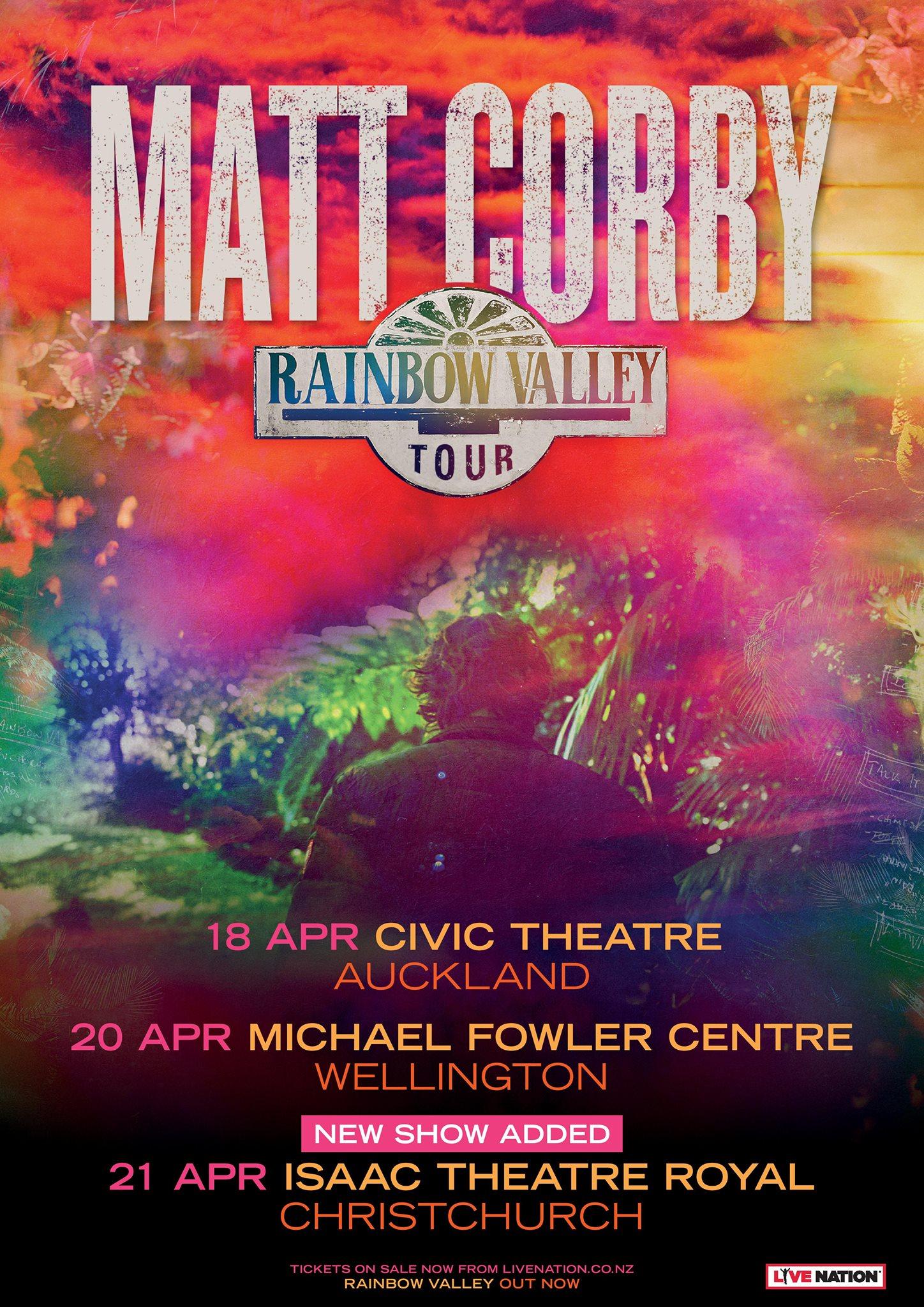 Matt Corby // Rainbow Valley Tour // Isaac Royal Theatre - SoundsGood
