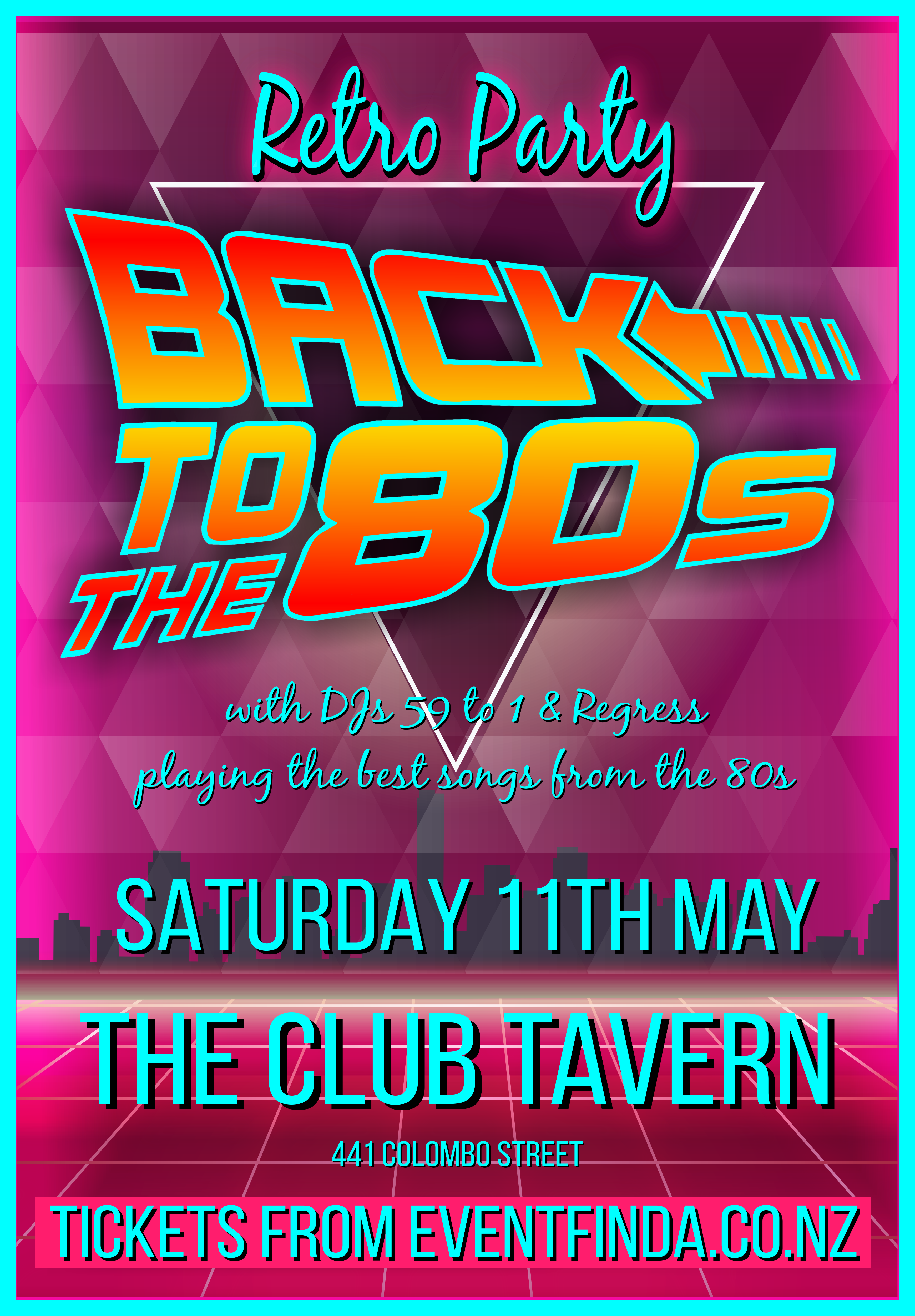 Back to the 80s : Retro Music Night - SoundsGood