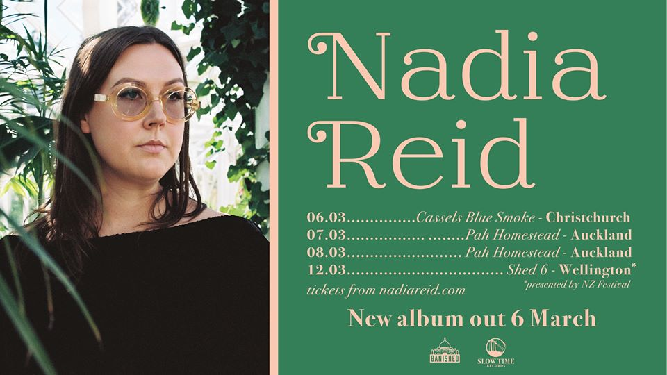 Nadia Reid – Out Of My Province 2020 NZ Tour – Christchurch